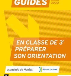 Orientation – «En classe de 3e, préparer son orientation – Guide élève» Rentrée 2020