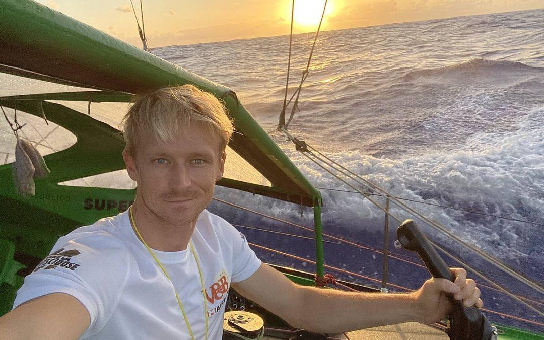 Rencontre avec le skipper Maxime Sorel du Vendée Globe